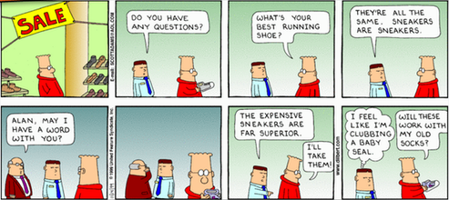 20140519 - Dilbert Running Shoes