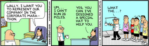 20140714 - Dilbert Marathon and Coffee